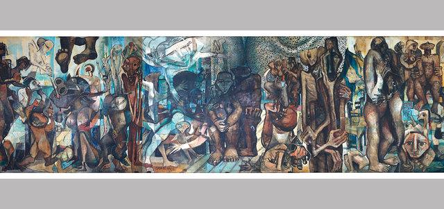 اللوحة الأهم والأغلى من حيث القيمة التقديرية في هذه الدورة هي للفنان عمر النجدي وتحمل اسم «سراييفو». من المصدر