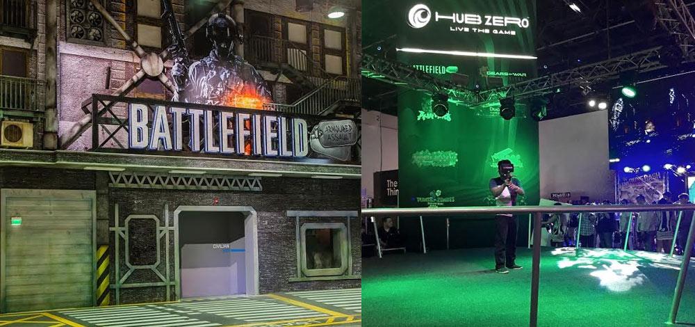 """أحدث ألعاب الفيديو العالمية تجتمع في """"هب زيرو"""""""