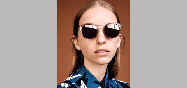 الاختيار الناجح للنظارة الشمسية يضفي أناقة على المظهر. د.ب.أ