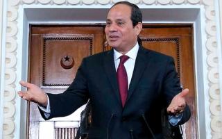 السيسي: مصر أكثر أمناً وأماناً وتخطو بثبات نحو البناء
