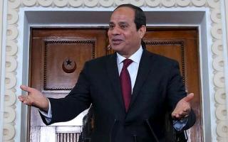 السيسي يؤكد التصدي بحزم لمحاولات زعزعة أمن مصر