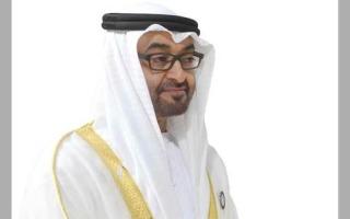 محمد بن زايد يؤكد تضامن الإمارات مع مصر في حادث الطائرة