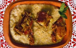 الصورة: مطبخ رمضان : الهريس باللحم