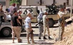 الصورة: القوات الليبية تتمسك بمواقعها في سرت