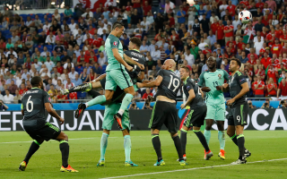 الصورة: رونالدو يرسل البرتغال لنهائي بطولة أوروبا