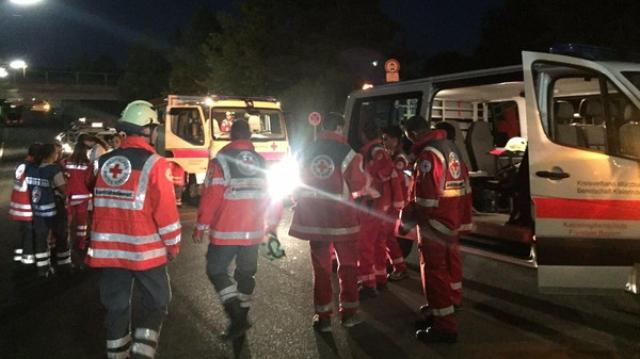داعشي يهاجم ركاب قطار في ألمانيا بفأس