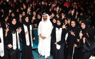 محمد بن راشد للمرأة الإماراتية في يومها: دولتنا ستبقى الأفضل باجتهادكنّ