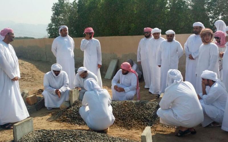 الصورة: بالفيديو.. تشييع جثمان الشهيد راشد أحمد عبدالله الحبسي