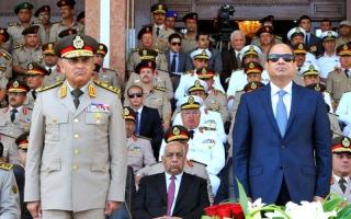 الصورة: السيسي: الأمن القومي العربي والخليجي جزء من الأمن المصري