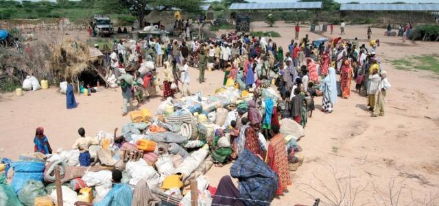 منظمات حقوق الإنسان تقول إن اللاجئين يتعرضون للتخويف والترهيب في مخيم «داداب» جنوب كينيا. أرشيفية