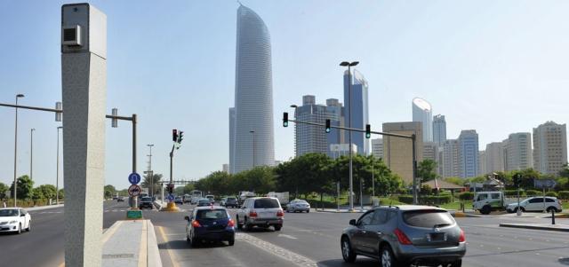 انخفاض المخالفات المرورية بعد إلغاء خفض قيمتها في أبوظبي