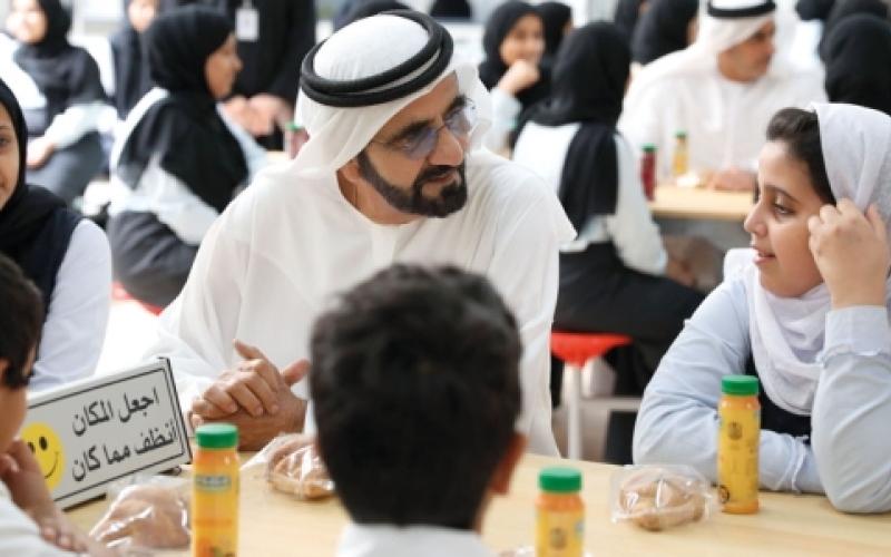 محمد بن راشد: متفائل بتحقيق أهدافنا قبل 2021