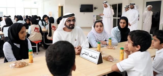 محمد بن راشـد: الحكـــومــة حققت إنجازات ضخمة لكن نريد لجميع أعضائها التحرك بالســـرعة نفسها
