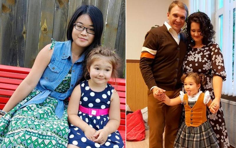 الصورة: بالفيديو.. طفلة عمرها 4 سنوات تتحدث 7 لغات تذهل العالم !