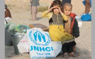 صورة وتعليق : مساعدات إنسانية