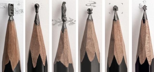 «أفكار» منحوتة على رؤوس أقلام الرصاص - حياتنا - ثقافة ...