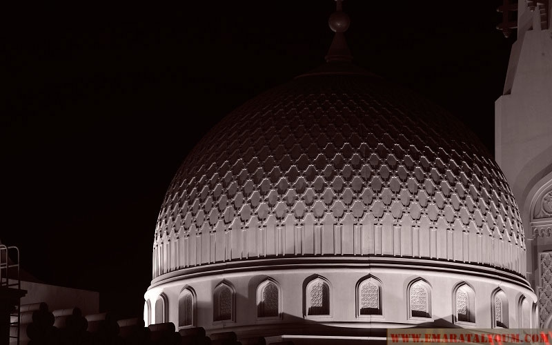 بالصور.. مسجد جامعة القاسمية