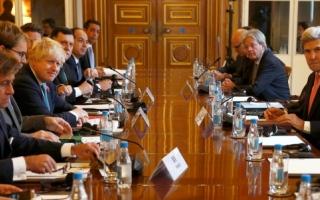 الصورة: اجتماع وزاري دولي يثني على دور الإمارات في ليبيا