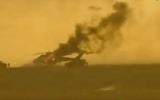 «داعش» يدمّر مروحية روسية شرق حمص