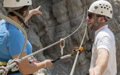 """الصورة: رأس الخيمة: تحدي """"فيا فيراتا"""" في أعلى منطقة جبلية بالدولة هذا الشهر"""