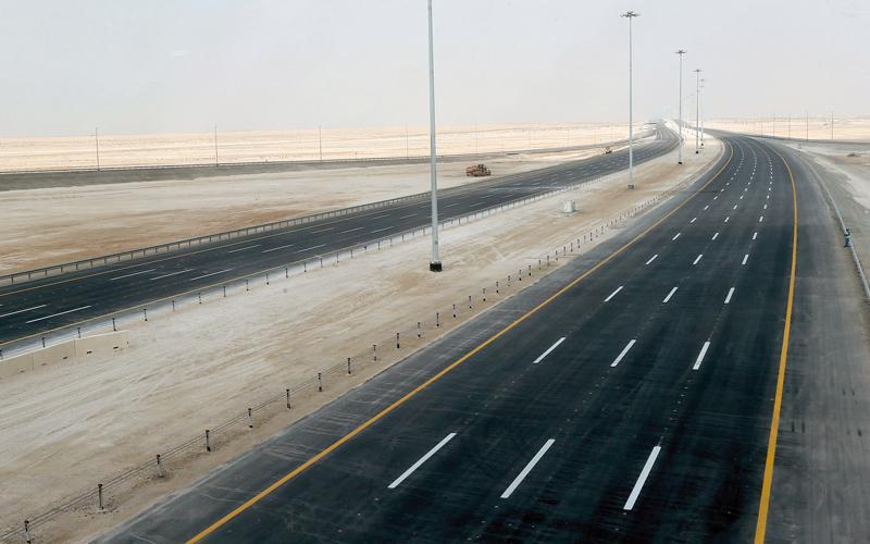 «مساندة»: إنجاز طريق أبوظبي - دبي الجديد نهاية العام الجاري - الإمارات اليوم