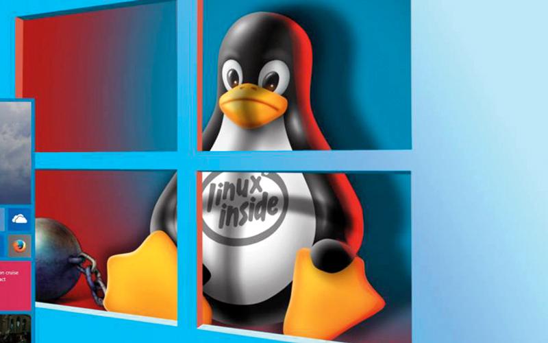 «مايكروسوفت» وصفت نظام تشغيل «لينكس» قبل 15 عاماً بأنه «سرطان البرمجيات». من المصدر