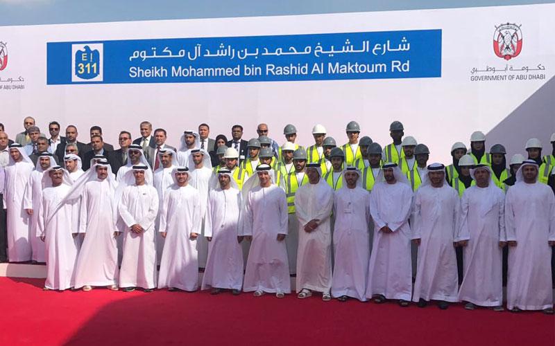 تدشين شارع  الشيخ محمد بن راشد   بطول 62 كيلومتراً - الإمارات اليوم