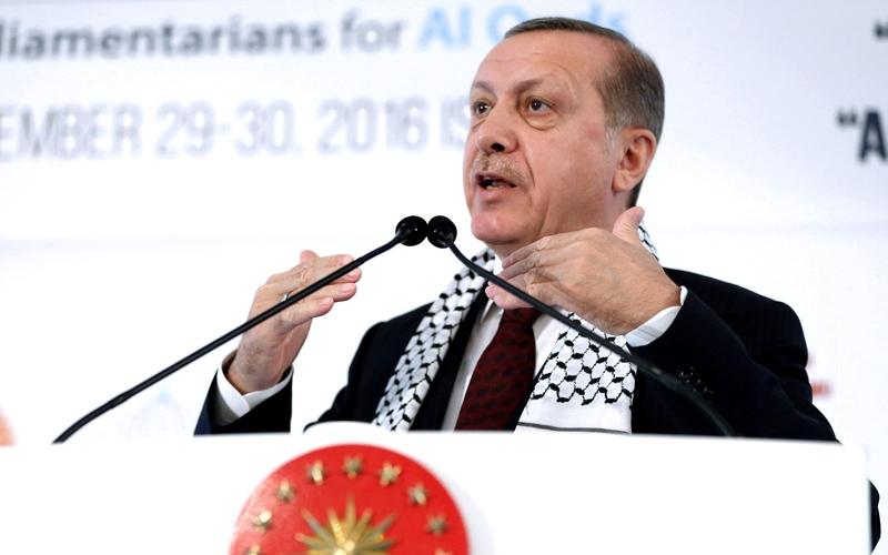 أردوغان يؤكد وجود «بدائل»عن الاتحاد الأوروبي