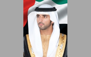 حمدان بن محمد يقدم واجب العزاء بوفاة عبدالله بن جمعة الكعبي