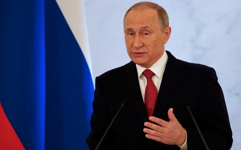 بوتين يخفف من خطابه المناهض للغرب
