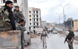 الفصائل تخوض معارك بقـــاء عنيفة  في أحياء حلب الشرقية