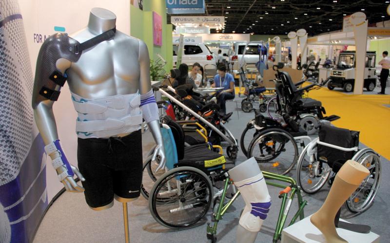 «إكسبو ذوي الإعاقة 2017» في دبي يستعرض الحلول الذكية والروبوتات - الإمارات اليوم