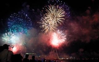 دبي.. لوحة فرح بـ«روح الاتحاد» في اليوم الوطني