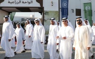 محمد بن راشد يزور «مهرجان زايد التراثي»