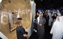 منصور بن محمد يكرّم الفائزين بـ «جائزة الشيخة منال للفنانين الشباب»