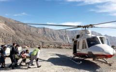 «جناح الجو» ينقذ شخصاً علق في جبل جيس