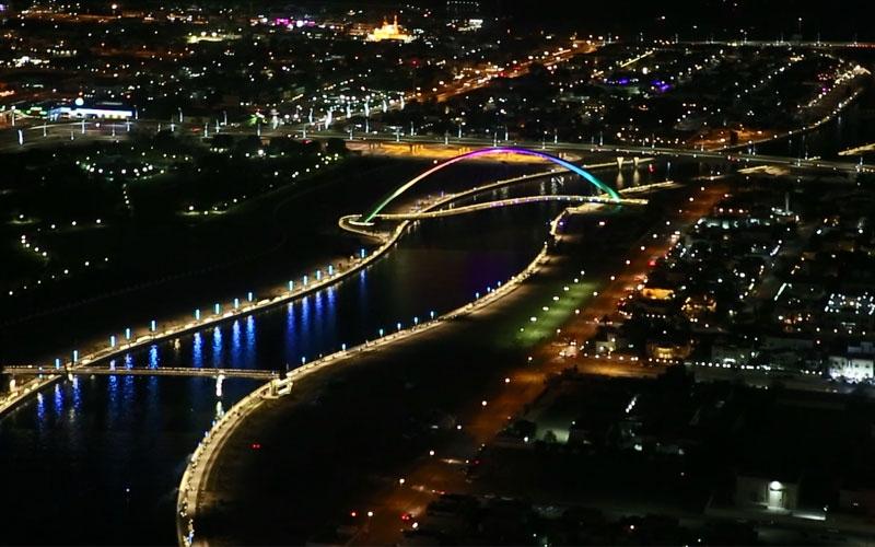 الصورة: شاهد.. رحلة قناة دبي المائية من لحظات التخطيط الأولى حتى الافتتاح