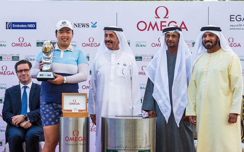 الصينية فينغ تظفر بلقب غولف دبي للسيدات - الإمارات اليوم