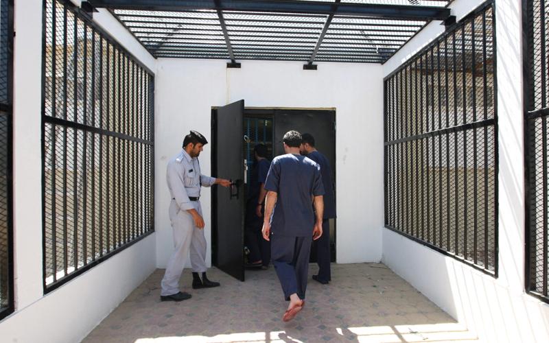 السجناء المشملون بالمبادرة تم اختيارهم بعد دراسة حالاتهم. أرشيفية