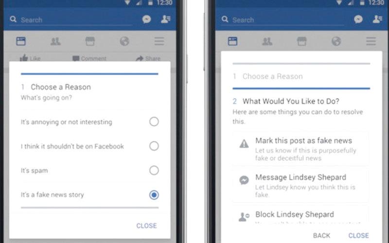 الصورة: «فيس بوك» يكشف عن أدوات جديدة لمنع تداول الأخبار الزائفة