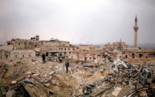 الاستراتيجية الروسية في حلب اعــتمدت  على الرعب والتدمير الكامل