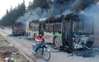 إرجاء عملية الإجلاء من حلب وبلدتي كفريا والفوعة حتى إشعار آخر