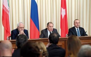 روسيا وإيران وتركيا تؤيد توسيع وقف النار  في سورية