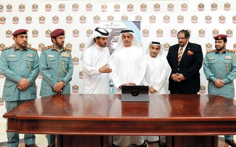 الصورة: سيف بن زايد يطلق اللعبة الإلكترونية التوعوية «سباق الإمارات»