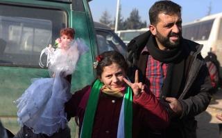 بدء عملية إجلاء آخر دفعة من المدنيــين من شرق حلب بإشراف أممــــي