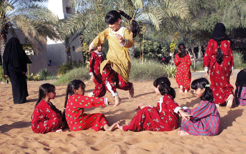 الألعاب الشعبية جزء راسخ من ذاكرة الوطن حياتنا ثقافة الإمارات اليوم