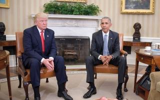 الصورة: خلافات ترامب وأوباما تخرج إلى العلن