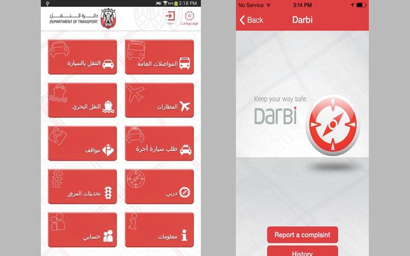 «درب» خدمات ذكية للمسافرين من أبوظبي