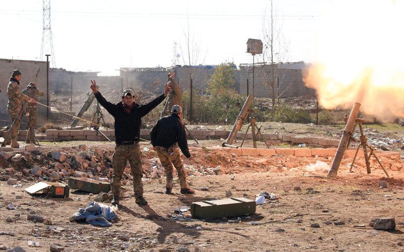 القوات العراقية تحرر منطقة المثنى وتقتحم أحياء في الموصل