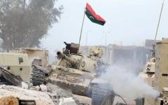 الصورة: مخاوف من اتساع رقعة النزاع في ليبيا